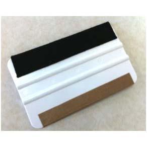 5 Inch SUPER Soft Felt/Teflon Stripped Magic Master Squeegee - 25 pack