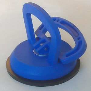 3.5 INCH BLUE SUCTION CUP